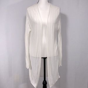 Uniqlo long line open from light cardigan L